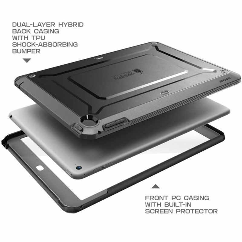 SUPCASE dla ipad Mini 4 Case UB Pro całego ciała wytrzymała podwójny dwuwarstwowy hybrydowy ochronna obrońców i staje w sytuacji sam pokrywa z wbudowany ochraniacz ekranu