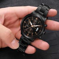 Montres hommes 2019 Top marque de luxe Quartz sport militaire hommes & #39s montres bracelet mode homme horloge pour relogio masculino reloj h