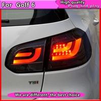 Car Styling for VW GOLF 6 MK6 GOLF6 R20 TAIL Lights LED Tail Light LED Rear Lamp DRL+Brake+Reversing+Signal LIGHT assembly