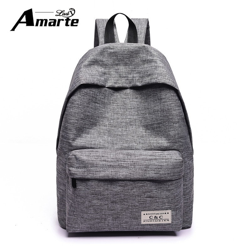 2017 New Women Canvas Backpacks Fashion Casual Teenager Girls School Bags Big Backpacks for College Students