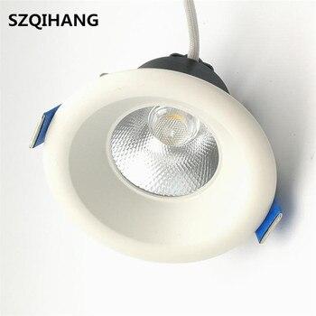 9 Вт 15 Вт 20 Вт круглый высокомощный теплый белый COB светодиодный встраиваемый потолочный светильник лампы светодиодные светильники для гост...