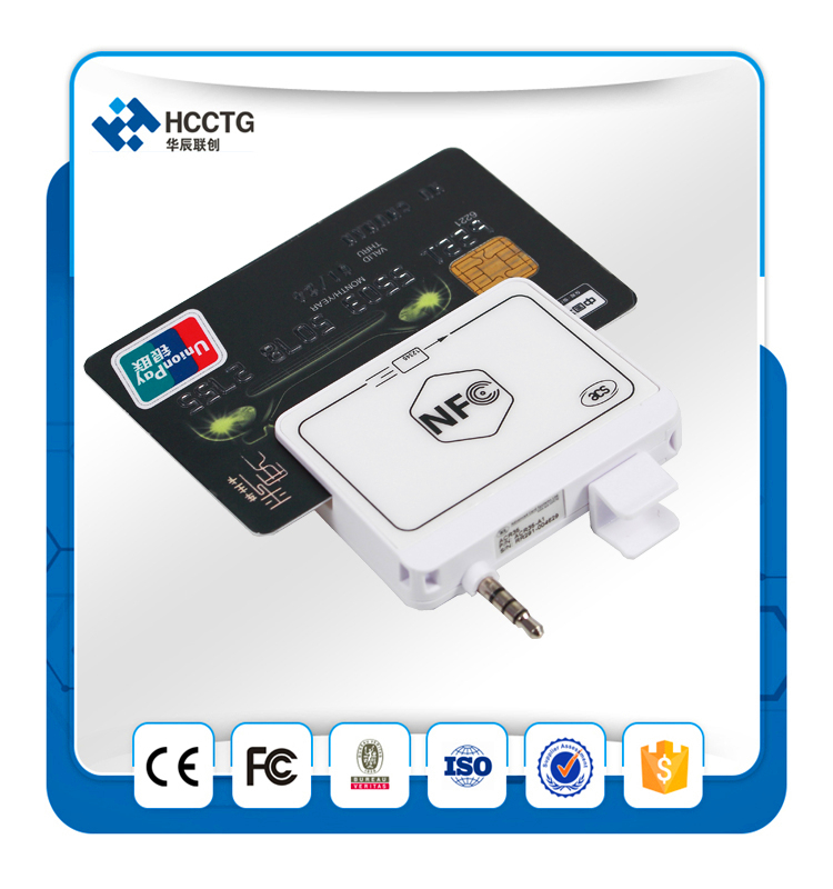 Mobile Magnetic Card Reading, Nfc Reader/write With Mini Pos Machine Acr35