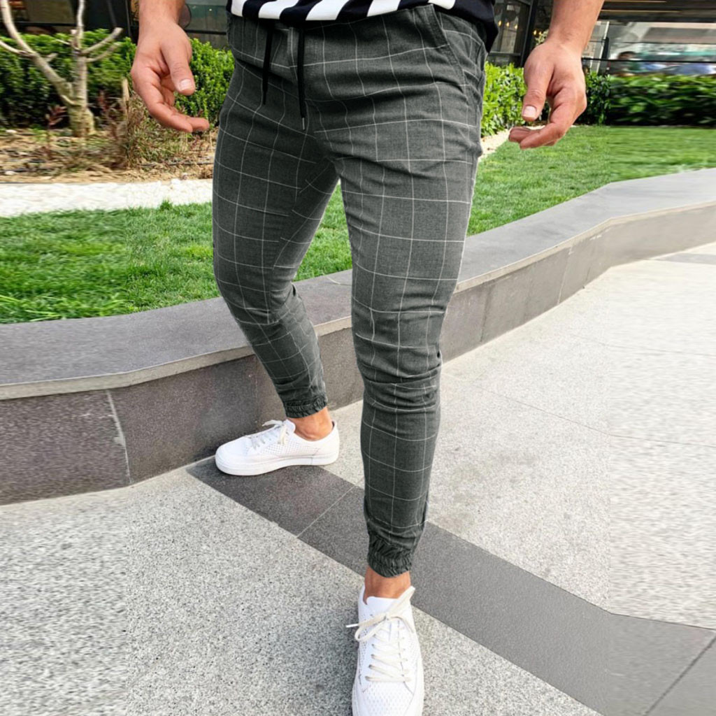 Casual Pants Leg-Trousers Pencil Jogger Pocket Slim-Fit Straight Fashion Summer High-Wasit