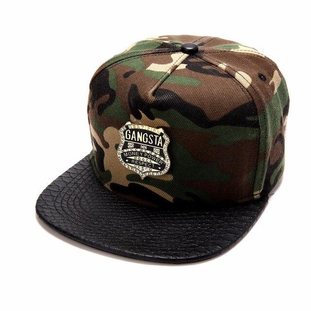 9da6e03cc29 Men Women Golden Hemp Leaf GUN Snapback Hats Gorras Weed Camouflage GANGSTA Baseball  Caps Sports Jesus Christ hip hop hat