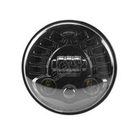 Pair 70W 7 Inch Round Universal LED Headlamp Replacement For 4x4 Off Road Wrangler Hummer Lada