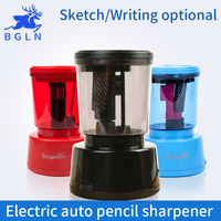 1Piece Electric Auto Sketch Pencil Sharpener USB Battery Charger Powered Intelligent Sketching Pencil Sharpener Stationery