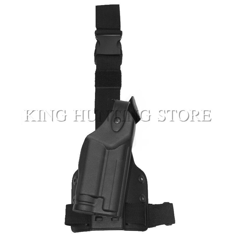 Tactical Pierna de La Gota Holster Muslo Plataforma Holster Caza para SIG P226 S