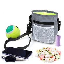 Pet Dog Training Treat Snack Bait Obedience Agility Outdoor Pouch Food Bag Dogs Pack Cosas Para Perros