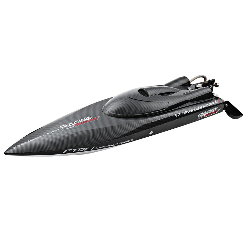 Fei Lun FT011 RC Boat 50km/h High Speed with Brushless Motor Built-in Water Cooling System Professional Racing RC Boat Speedboat h625 pnp spike fiber glass electric racing speed boat deep vee rc boat w 3350kv brushless motor 90a esc servo green