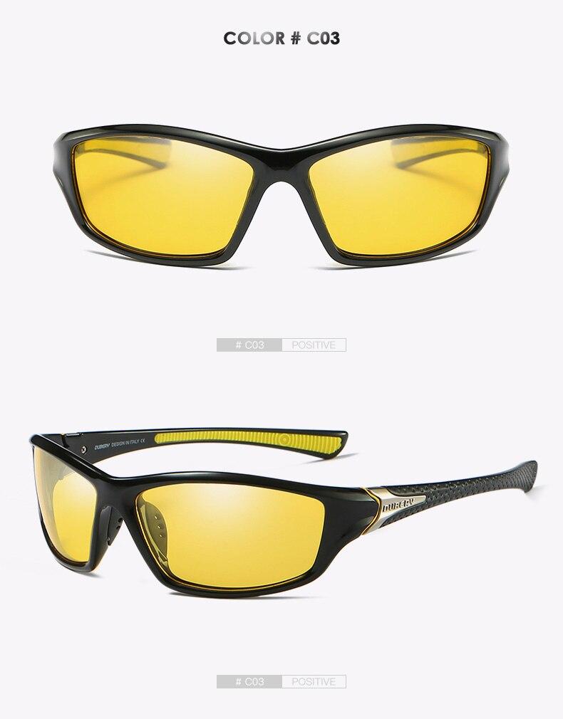439bc07f994b9 DUBERY Marca Designer Unidade de Viagem Ao Ar Livre Polarizada Óculos De Sol  Dos Homens Do Vintage Óculos De Sol Dos Homens Óculos HD Shades Gafas  Masculino