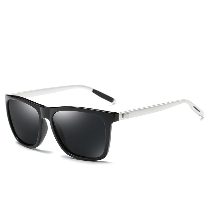 Wowmity Unisex aluminum points+tr90 polarized sunglasses men brand designer women sun glases vintage glasses driving sunglasses