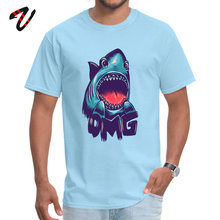 New Design shark Europe T Shirts Crew Neck Street Wear Adult Tops Shirt Strange Things Sleeve NEW YEAR DAY Tee-Shirts