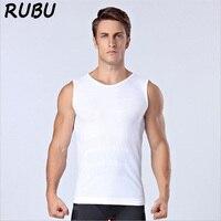 Neue Männer Körper Abnehmen Bauch Shaper Vest Trocknen Schnell Breathable männer Tops Unterwäsche Sleeveless T-Shirt Shapewear Korsetts 5AD37
