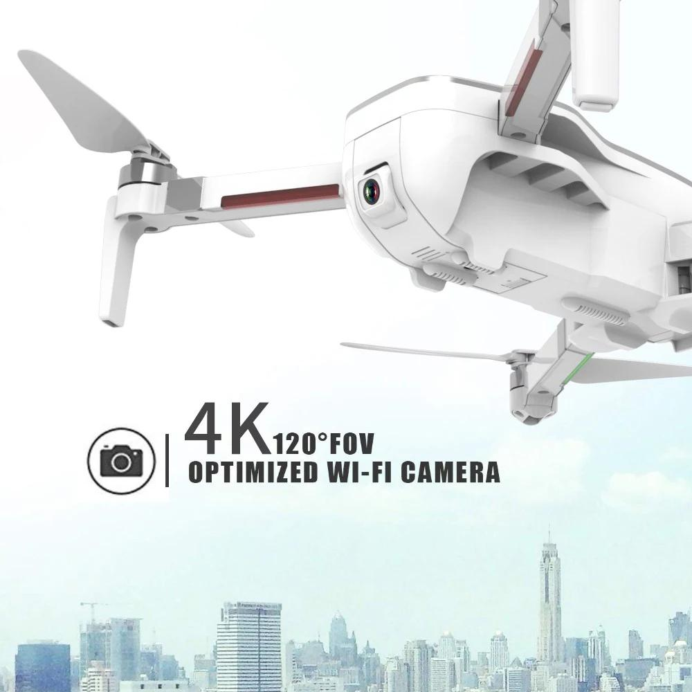 CSJ X7GPS Brushless 4K with Camera 5G Wifi FPV Remote Toys Foldable Gesture Photo RC helicopter RTF VS ZLRC Beast SG906