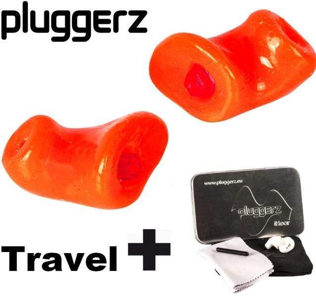 ***custom-made***Pluggerz travel reusable earplugs noise cancelling pilot