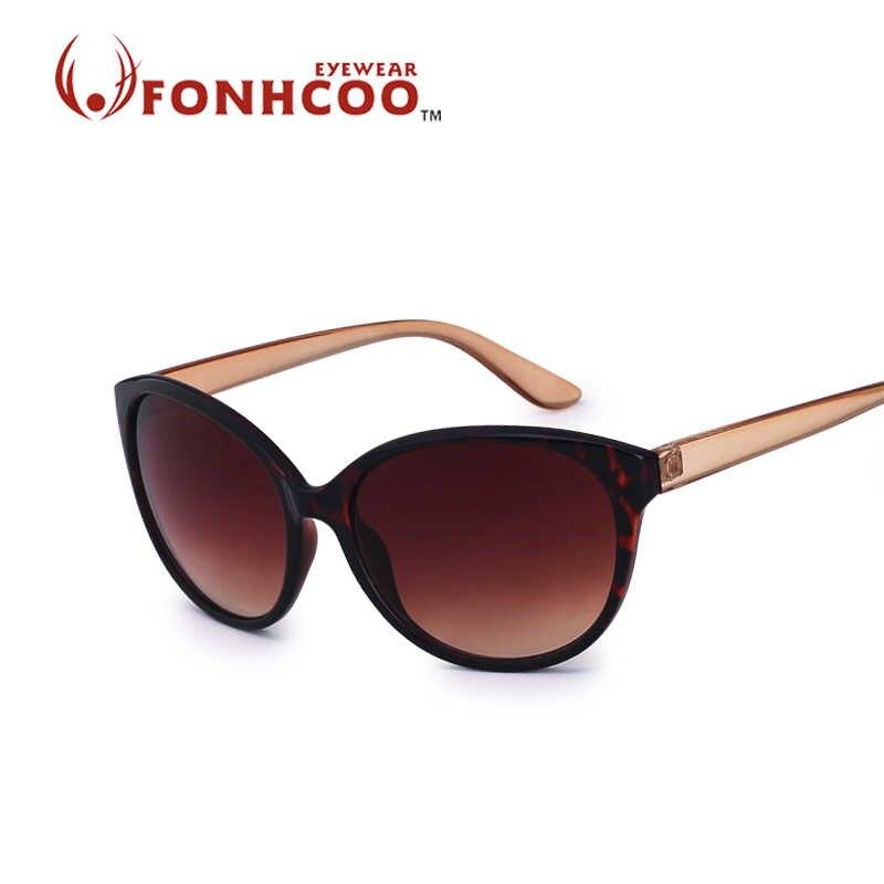7d67e3a4ac 2017 FONHCOO nuevas moda de marca gafas de sol de las mujeres gafas de sol  Venta