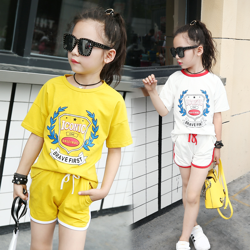 Children Clothing Sets For Girls Outfits Cotton Patchwork Kids Sports Suits Girls Tracksuits Brand Casual Sportswear 11 12 13 14 brand children girl casual tracksuits infant outfits kids clothing sets girls sport suit for children babi girls tees leggings