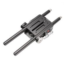JTZ DP30 Universal Quick Release QR Baseplate for Follow Focus 15mm Rod Rig Sony ARRI RED A7 A7S A7RI A7RM2 A6500 A7000 GH4 C100