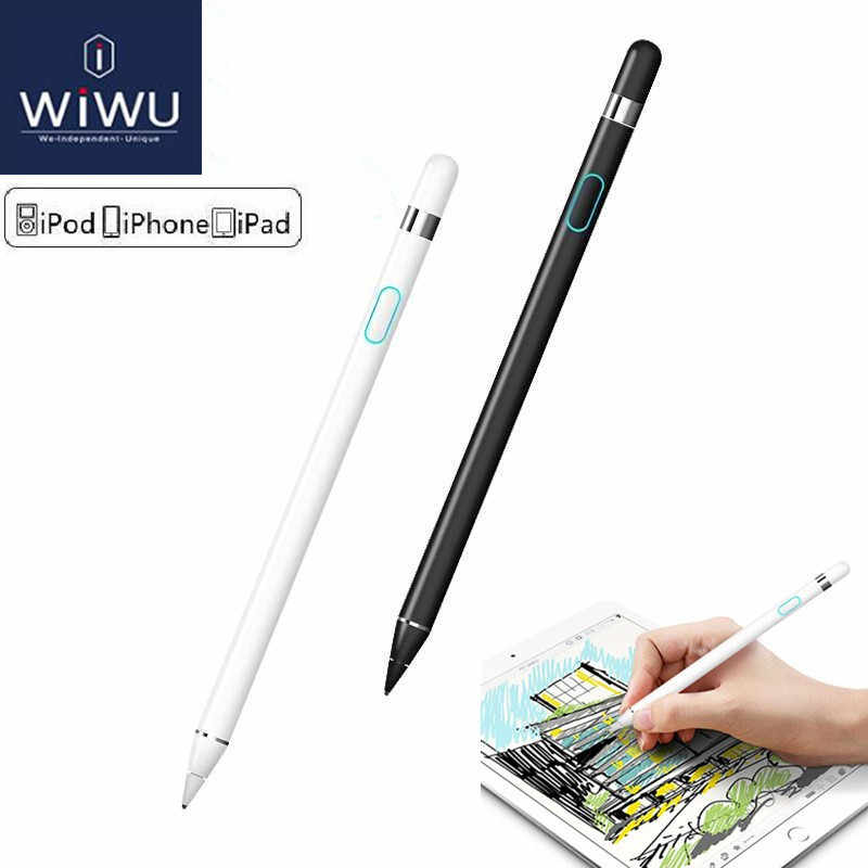 separation shoes 12552 5a080 WIWU For iphone X XS MAX XR Pencil Touch Screen Pen Stylus Pencil For Apple  iPad & iPad Pro Apple ios and Android system