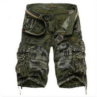Dropshipping Men S Camouflage Shorts Plus Size 29 42 Summer Army Cargo Shorts Workout Shorts Loose