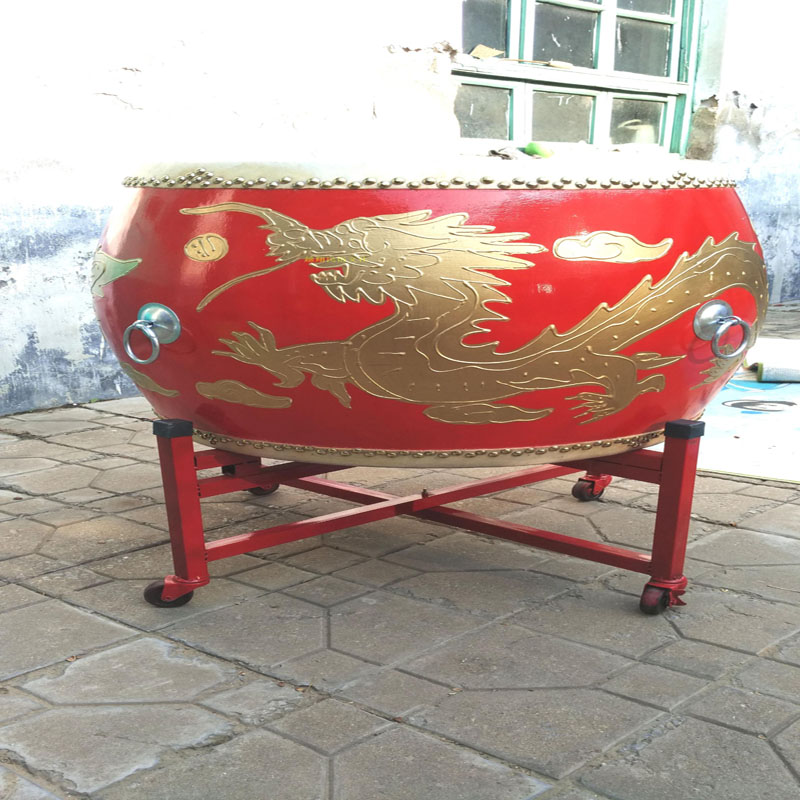 Premium Dragon Tanggu Tang Drum Lion Dance Drum Traditional Chinese Drum  Beijing Opera stage show lion dance costume prop