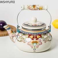 2L thick enamel pot kettle Kettle jug Chinese medicine pot induction cooker gas