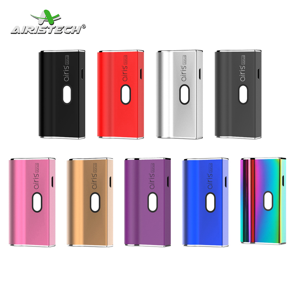NEW Original Airistech Airis Janus Vaporizer 650mAh Vape Battery 2-in-1 oil vaporizer 510 Thread CBD Electronic Cigarette Mod(China)