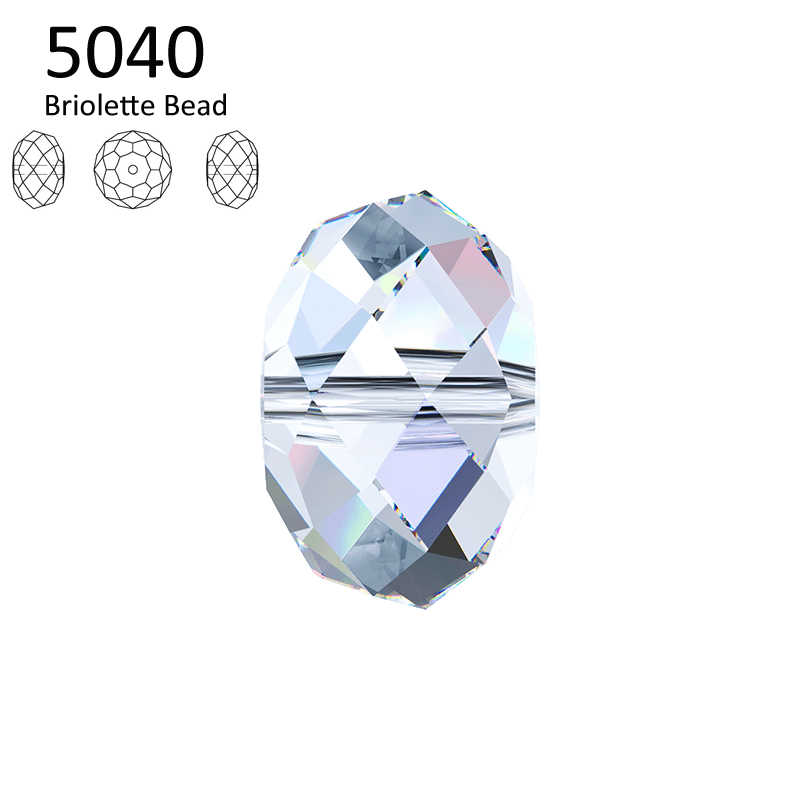 (1 piece) 100% ORIGINAL crystal from Swarovski 5040 Briolette bead made in Austria loose beads rhinestone for DIY jewelry making