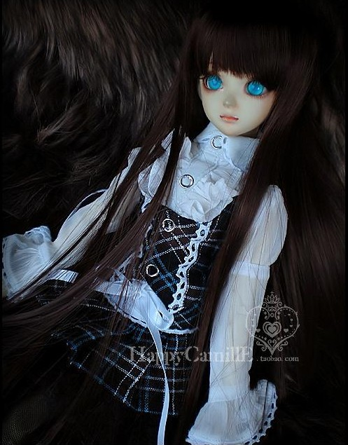 1/4 1/3 scale BJD  doll wig long hair for DIY BJD/SD accessory.Not included doll,clothes,shoes,and other accessories 17C3238