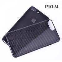Top Quality Super Sport Car Accessories Customized Logo Carbon Fiber Cover For iPhoneX Phone Cases For iPhone 8 7 Plus Carbon