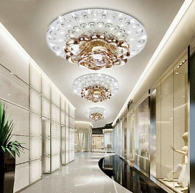 Kreatif Kristal Led Lampu Langit Untuk Koridor Ruang Tamu R Tidur Downlight