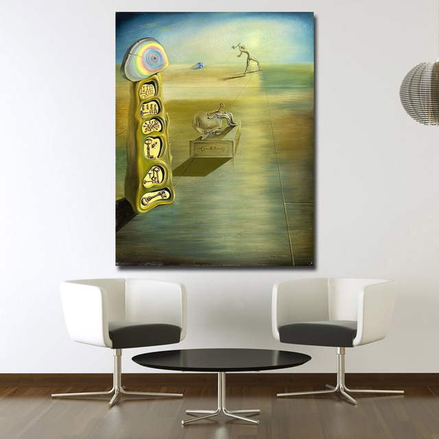 Wxkoil Salvador Dali-Untitled Painting For Living Room Home Decor Wall Art Oil Painting Print On Canvas Wall Painting Unframed 1