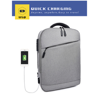 KUBUG 15.6 inch Laptop Business Backpack Men USB Charge Anti theft Lock Waterproof Tourist Backbag Women Notebook Bag K1801