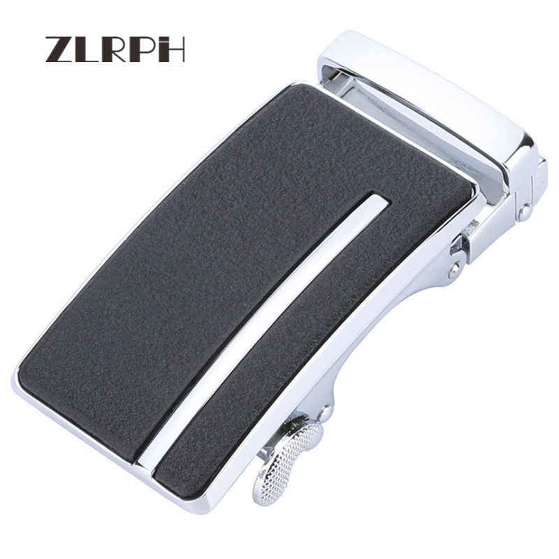 ZLRPH Men's High Quality Automatic Belt Buckle Gun And Silver Color