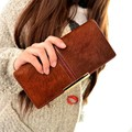 FREE SHIPPING Fur Middle Separated Money Bag Women Purse Long Wallet Casual Lady Cash Purse Women Hand Bag