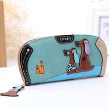Wallets Leather Dog Wallet Brand Women