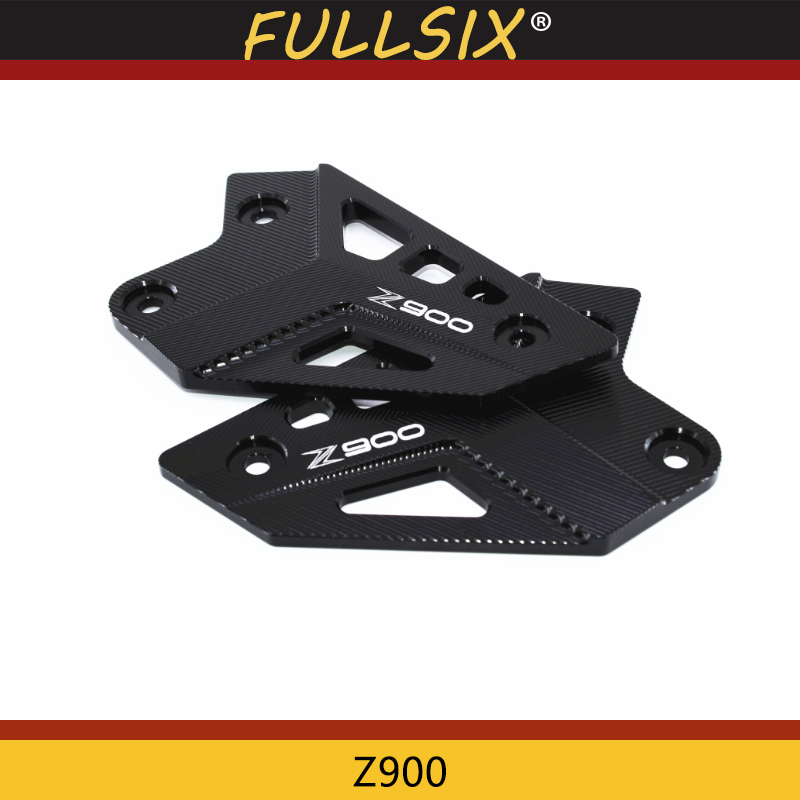 For <font><b>KAWASAKI</b></font> <font><b>Z900</b></font> Z 900 2017 2018 Motorcycle <font><b>Accessories</b></font> FootPeg Footrest Rear set Heel Plates Guard Protector image