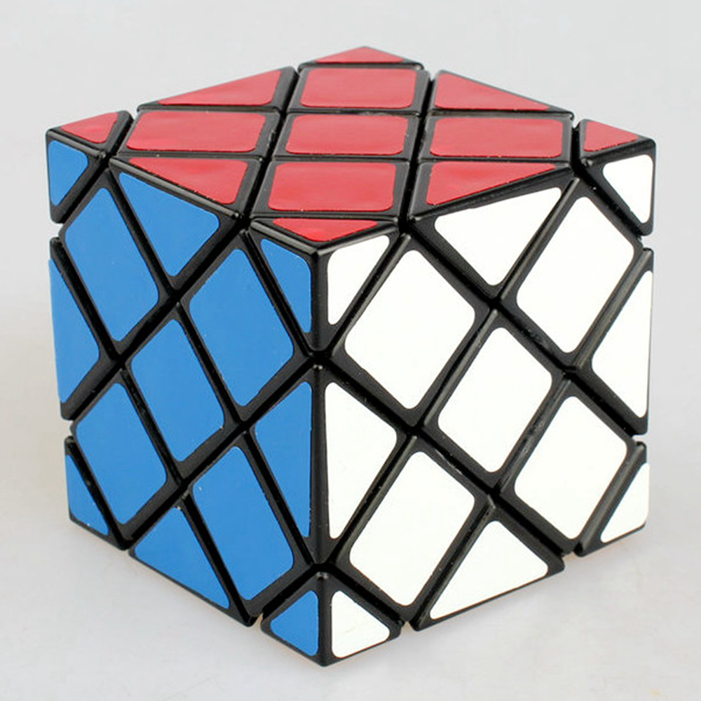 Lanlan ABS 56mm 4x4x4 Master Skewb Cube Speed Magic Cube Puzzle Game Cubes Educational Toys For Kids Children Birthday Gift