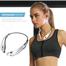 Wireless Earphones Movement Bluetooth Wireless Headset Necklace Hung Waterproof Long Standby Fone De Ouvido #A(China)