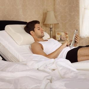 Image 5 - PurenLatex 60 × 40 タイ純粋な天然ラテックス枕是正ネック椎骨保護ヘルスケア整形外科枕スローリバウンド