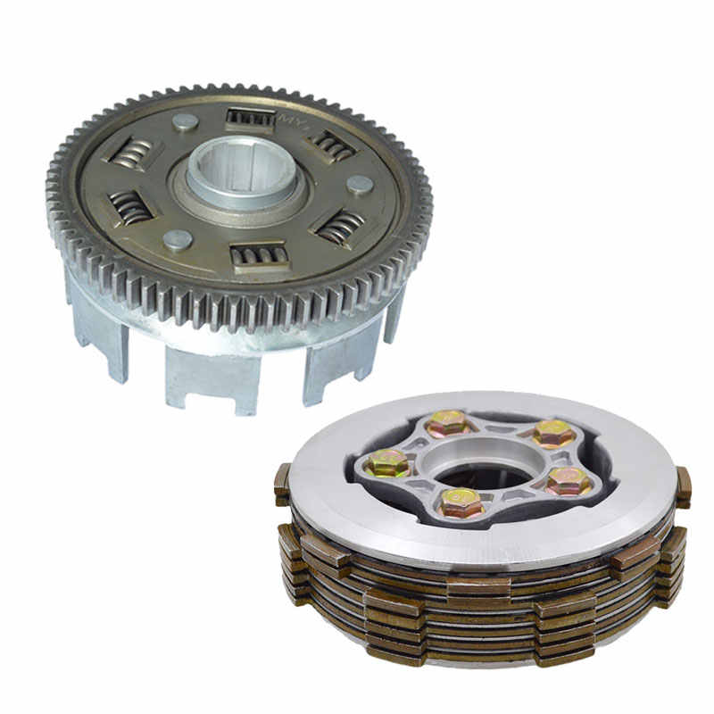 Motorcycle Clutch Parts Drum Hub Assembly With Widen