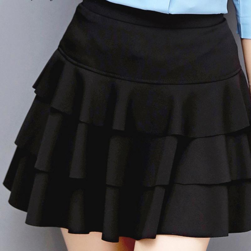 HTB1ytvXRXXXXXajXFXXq6xXFXXX2 - A-Line Style Girls Black Skirts PTC 160