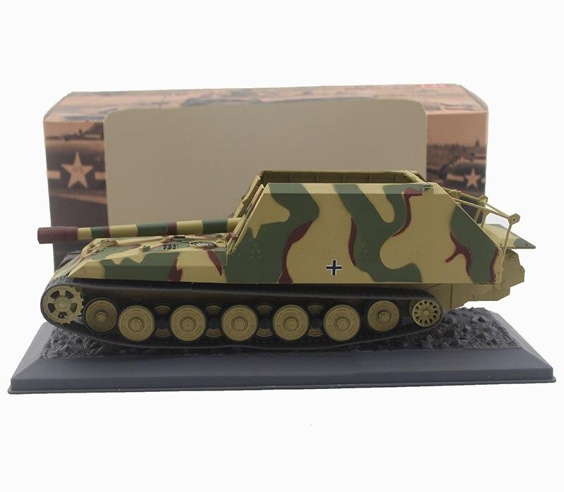 Oyuncaklar ve Hobi Ürünleri'ten Pres Döküm ve Oyuncak Araçlar'de Nadir Özel Teklif 1:43 1945 Alman Ordusu Tankı modeli Kaplan kürk 17cm K72 Alaşım bitmiş ürünler Koleksiyon model'da  Grup 2