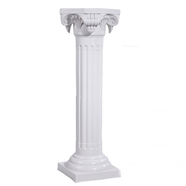 New Fashion Wedding Decoration Outdoor Roman Column Plastic Pillar