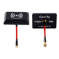 Hot Original Coolfly 5 8GHz 9DBI Wireless Panel Antenna AV Transmitter SMA RP SMAantenna For FPV