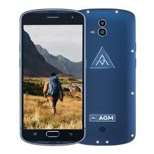 Original AGM X1 Wasserdichte Telefon 5,5 zoll Android OS Qualcomm Snapdragon 617 5400 mAh 4 GB RAM 64 GB ROM 13MP OTG 4G Smartphone NFC