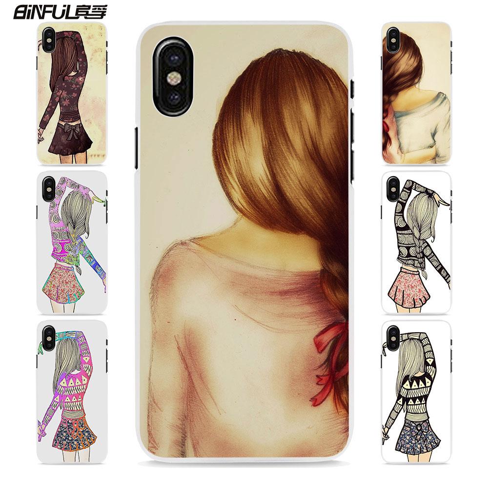Binful разные, но лучшие друзья навсегда Стиль трудно белый кожи, чехол для телефона Apple iphone 8 8 плюс 6 7 7 Plus SE 6splus 5