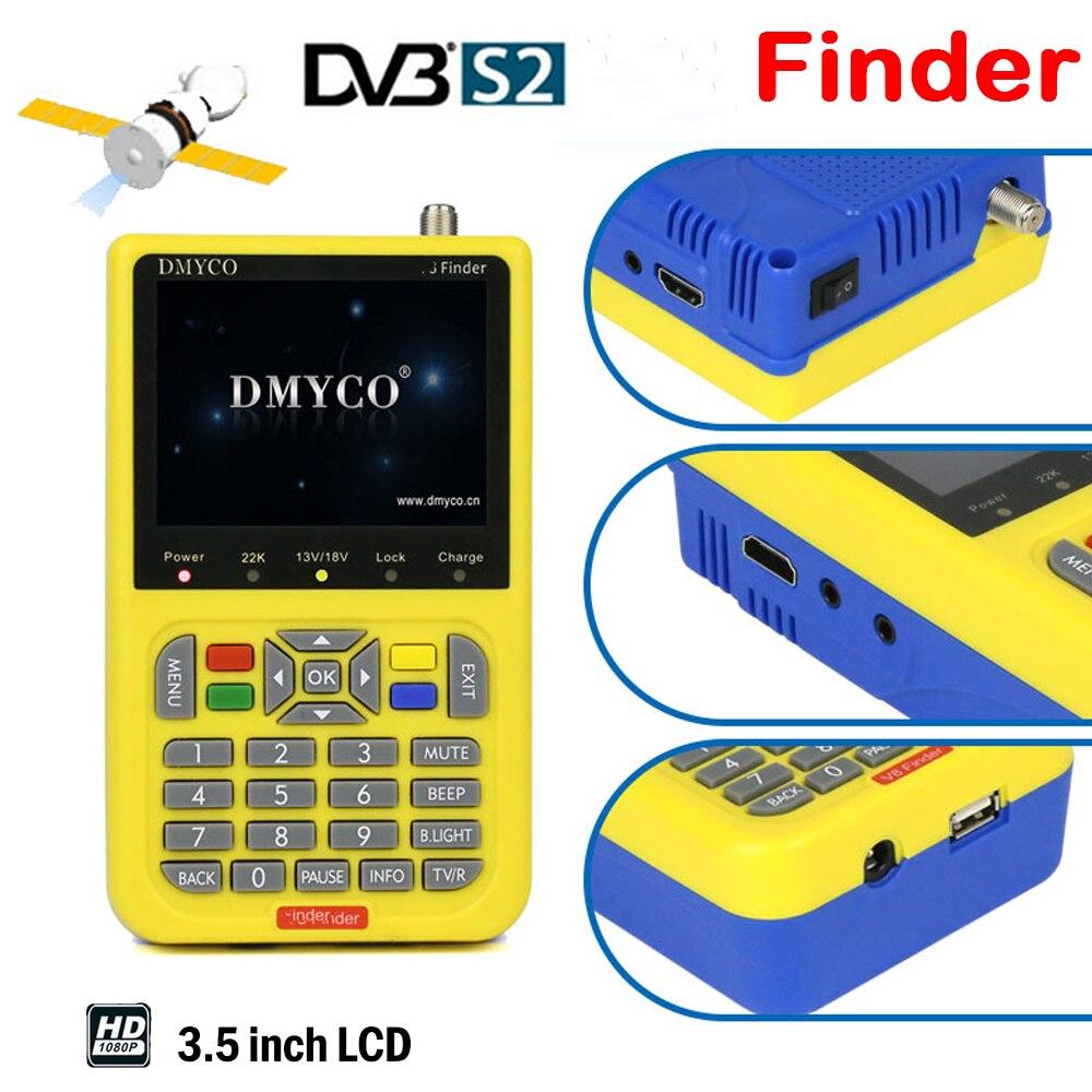 Full HD satlink satellite Finder DVB S2 DVB S High Definition FTA Digital Satellite Signal MPEG 2 MPEG 4 LCD sat finder Meter