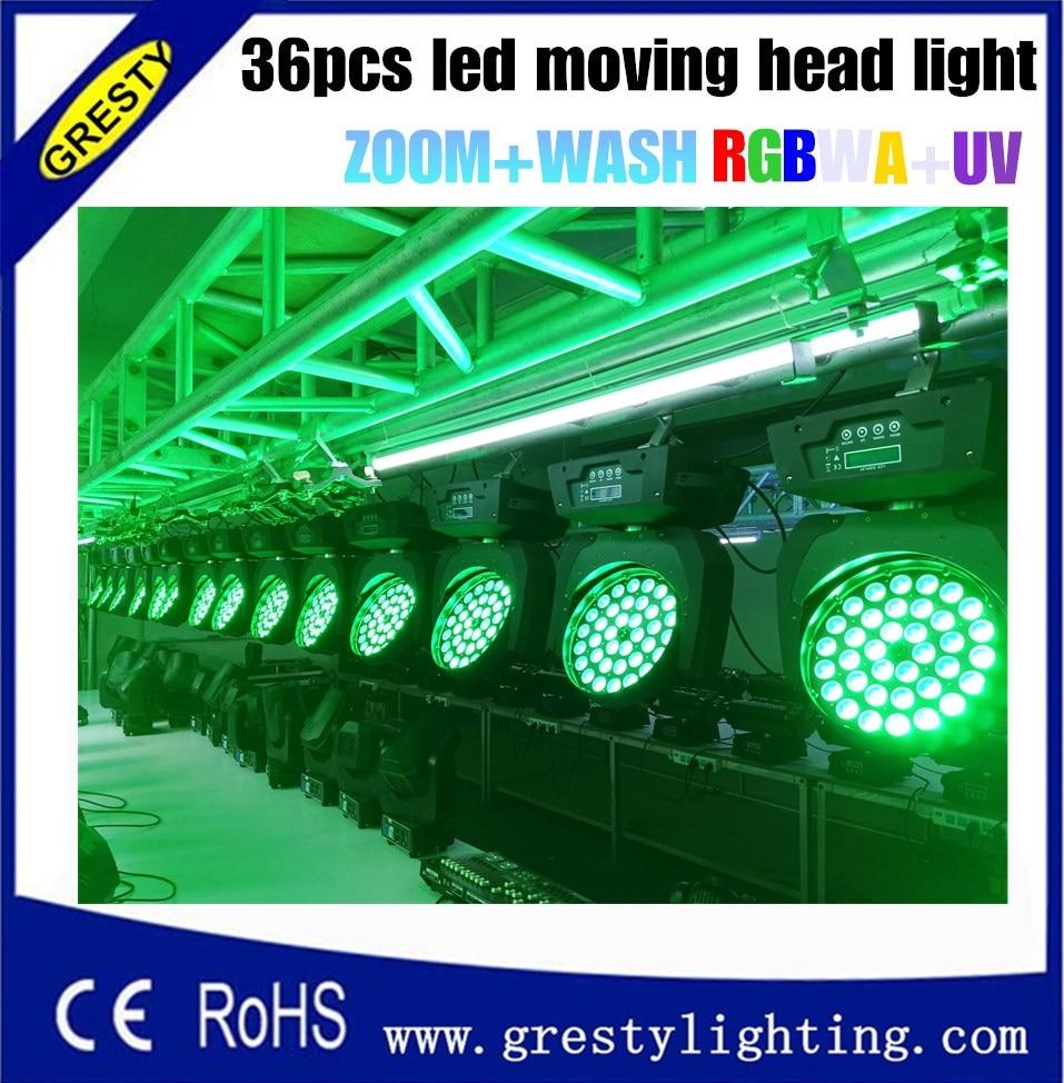 Freeshipping 2XLot 36 հատ 18W RGBWAUV գույնի խառնիչ - Կոմերցիոն լուսավորություն - Լուսանկար 3