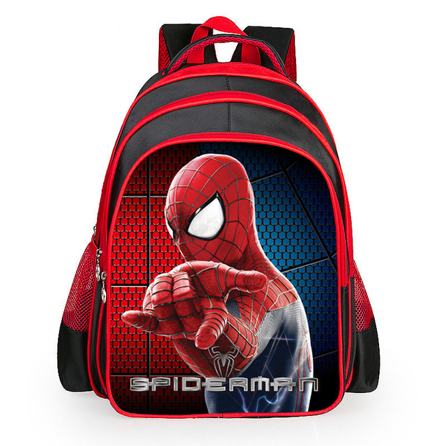 3D Cartoon Spiderman Orthopedic Children School bags For Boys  Ultralight Waterproof Backpack Schoolbag Boy Mochila Kids Satchel